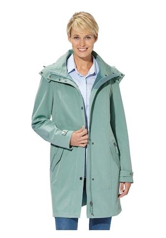 Casual Looks Softshell - Jacke in figurschmeichelnder Länge kaufen