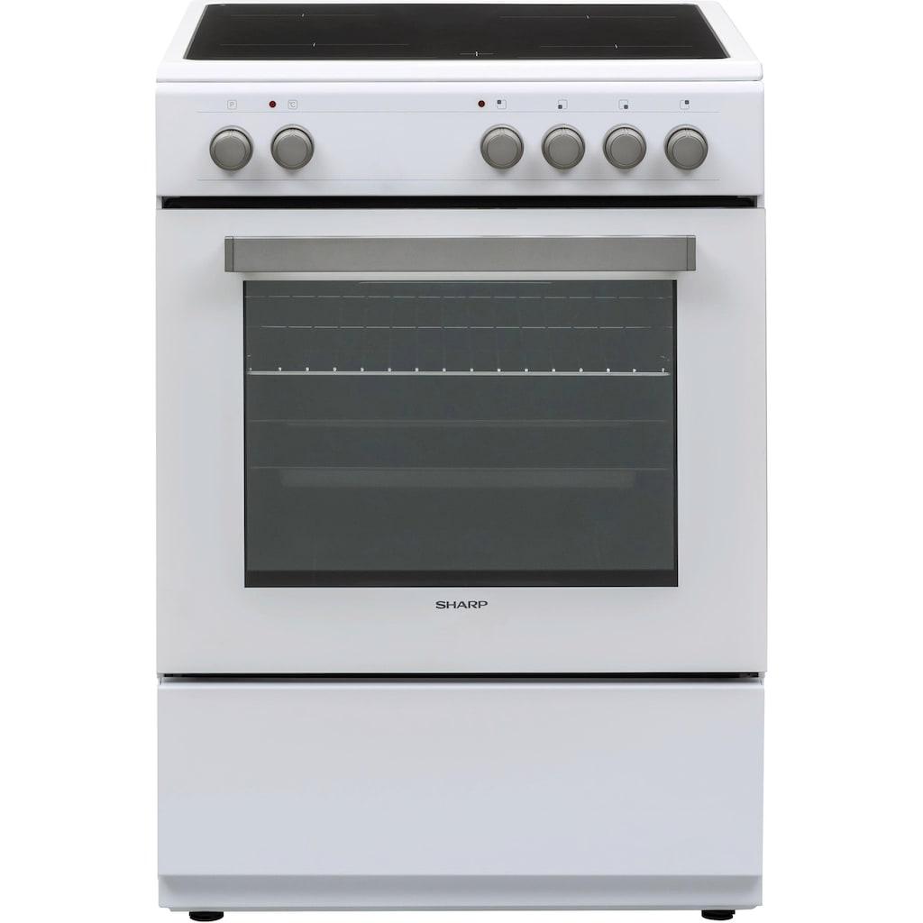 Sharp Elektro-Standherd »KF-76VNO22W-DE«