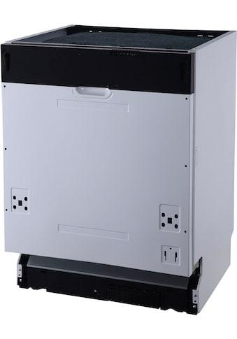RESPEKTA vollintegrierbarer Geschirrspüler »GSP 60 VA++«, GSP 60 VA++, 12 Maßgedecke kaufen