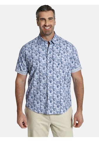 Charles Colby Kurzarmhemd »DUKE TERENCE«, Baumwollhemd mit Blumenprint kaufen