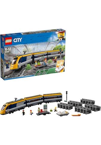 LEGO® Konstruktionsspielsteine »Personenzug (60197), LEGO® City«, (677 St.) kaufen