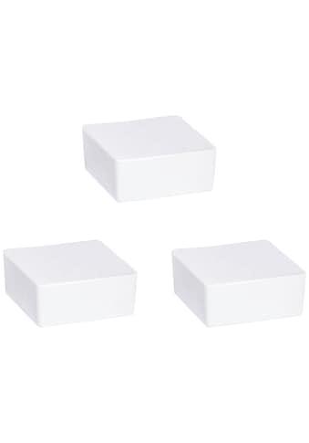 WENKO Luftentfeuchter »Cube«, für 40 m³ Räume, 3x500 g Nachfüllblock mit frischem... kaufen