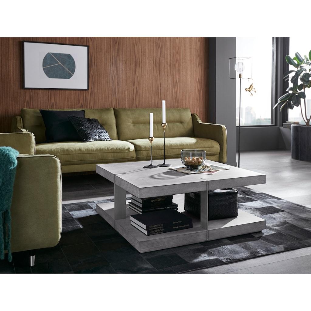 Places of Style Couchtisch »Verrazzano«, in unterschiedlichen Farben und Größen erhältlich, aus Holz und Metall gefertigt