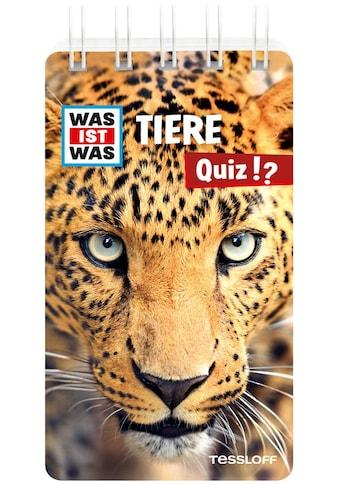 Buch »WAS IST WAS Quiz Tiere / DIVERSE« kaufen