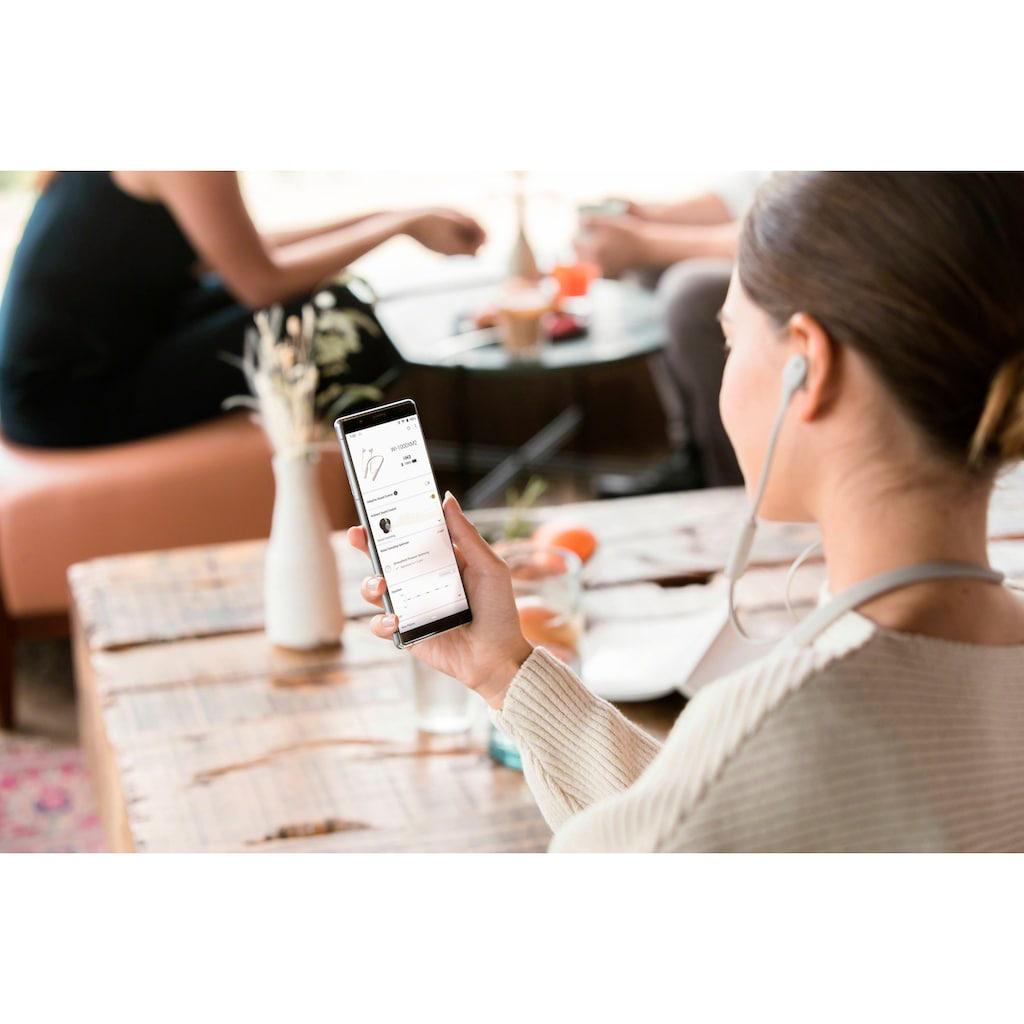 Sony In-Ear-Kopfhörer »WI1000XM2«, Bluetooth-NFC, Noise-Cancelling-Sprachsteuerung, Headset mit Mikrofon