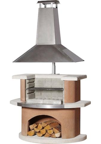 BUSCHBECK Grillkamin »Kampen«, B/T/H: 110/65/210 cm kaufen