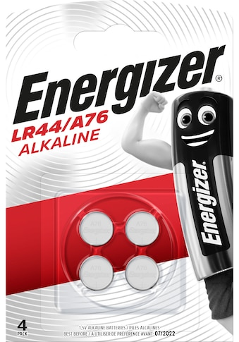 Energizer Batterie »Alkali Mangan LR44 / A76 4 Stück«, 1,5 V kaufen