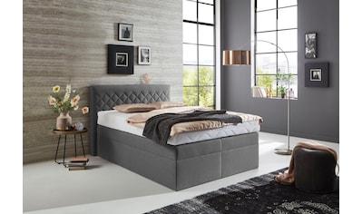 Westfalia Schlafkomfort Boxspringbett, wahlweise mit Bettkasten kaufen