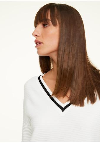 Comma V - Ausschnitt - Pullover kaufen
