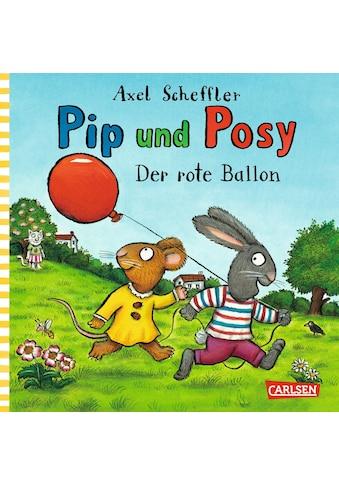 Buch »Pip und Posy: Minibuch Der rote Ballon / Axel Scheffler, Axel Scheffler« kaufen