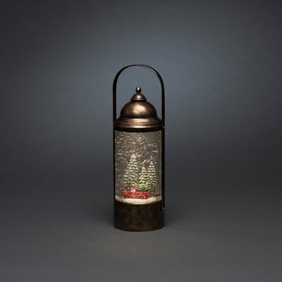 Weihnachtslaterne mit Teelicht