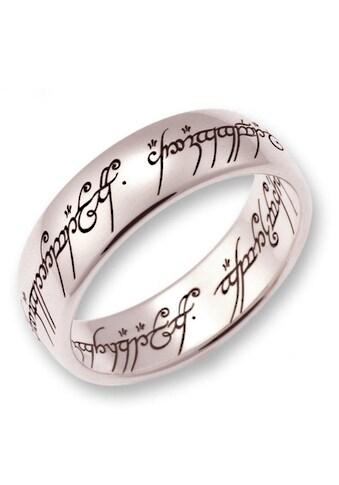 Der Herr der Ringe Goldring »Der Eine Ring - Weißgold, 10004083, 10004084, 10004085«,... kaufen