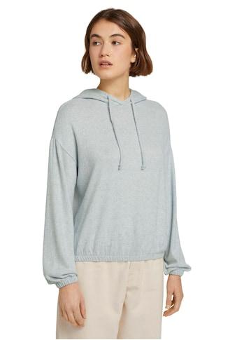 TOM TAILOR Denim Kapuzenshirt, mit Kapuze kaufen