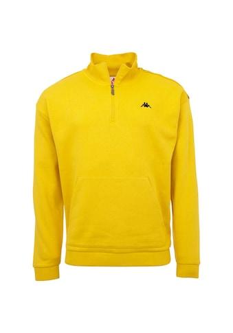 Kappa Sweatshirt »AUTHENTIC GREETER«, in sportlichem Half Zip Design kaufen