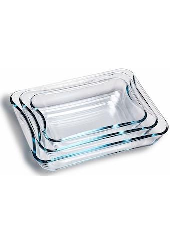 SIMAX Auflaufform, Glas, (3 St.), Borosilikatglas kaufen