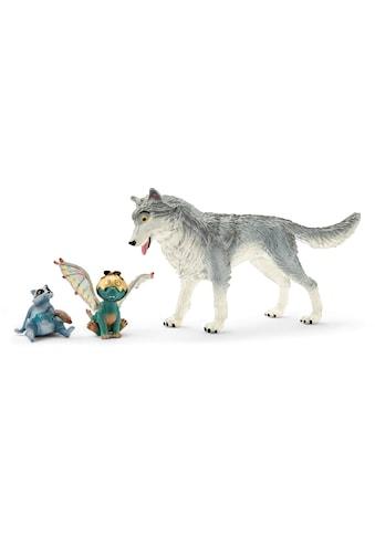 Schleich® Spielfigur »bayala MOVIE, Lykos, Nugur & Piuh (70710)« kaufen