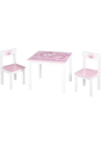 roba® Kindersitzgruppe »Krone«, (3 tlg.) kaufen