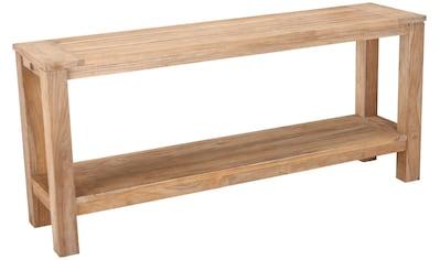 Best Sideboard »Moretti«, Teakholz, 170x75x42 cm kaufen