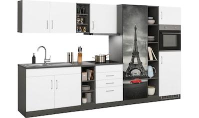HELD MÖBEL Küchenzeile »Paris«, mit E-Geräten, Breite 340 cm, wahlweise mit... kaufen