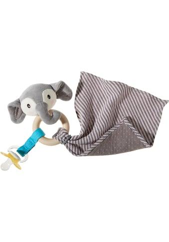 Heunec® Greifling »FrohNATURen Elefant, riverblue«, GOTS organic, zertifiziert durch... kaufen