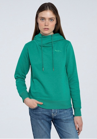 Pepe Jeans Sweater »ALICIA«, tollem Kragen zum Binden kaufen