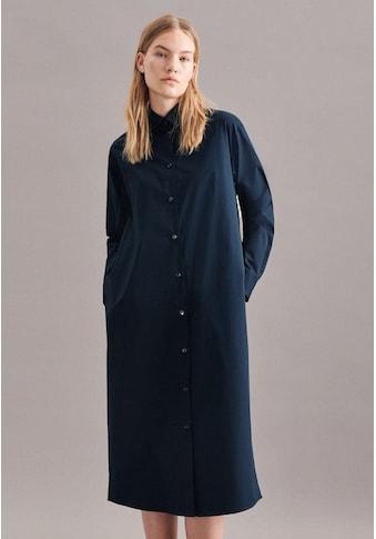 seidensticker Sommerkleid »Schwarze Rose«, Langarm Kragen Uni kaufen