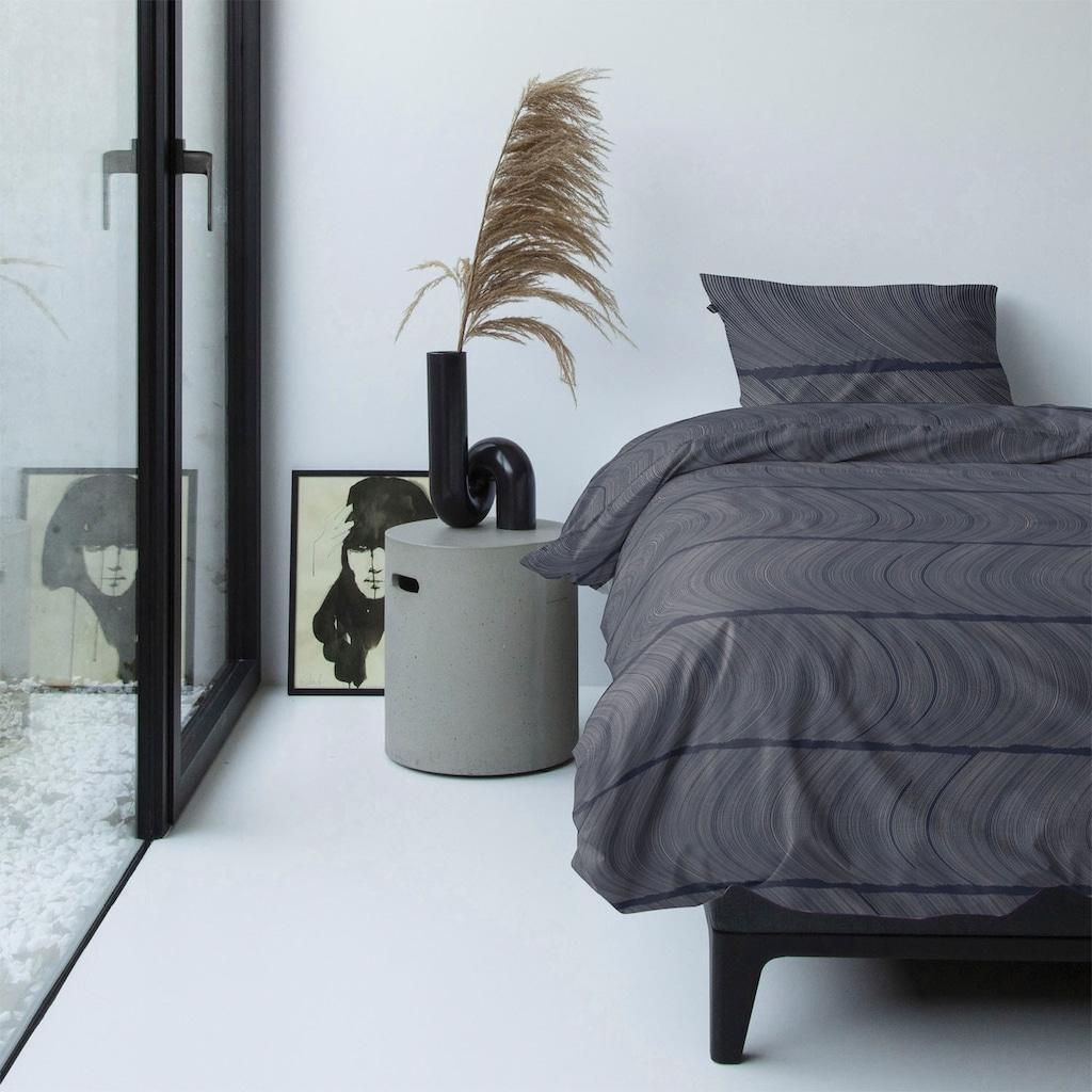 damai Bettwäsche »Ocean«, mit wellenförmigem Muster