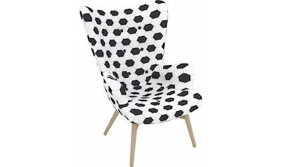 Max Winzer® Sessel »Arne, der Fußballer«, in Schalenform, im Fußball-Look, Hochlehner kaufen