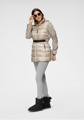ALPENBLITZ Softshelljacke »Bergen short«, mit gesteppten Body-Part und Softshell-Details kaufen