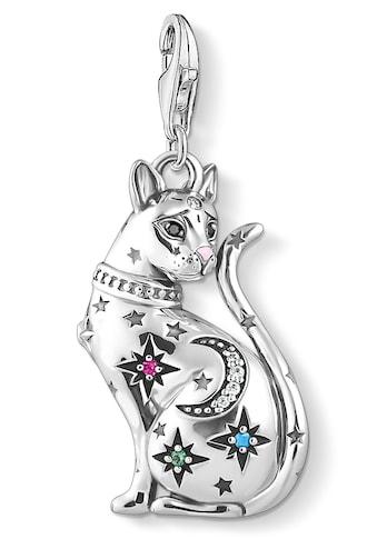 THOMAS SABO Charm-Einhänger »Katze Sternenbild silber, 1839-340-7«, mit Emaille,... kaufen