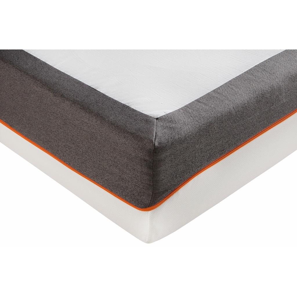 SonnCo Komfortschaummatratze »Cooper«, 28 cm cm hoch, (1 St.), Mit perfekter Druckentlastung durch 4cm hohen latexähnlichen Weichschaum auf der Oberseite. Ideal für alle, die gerne weich schlafen