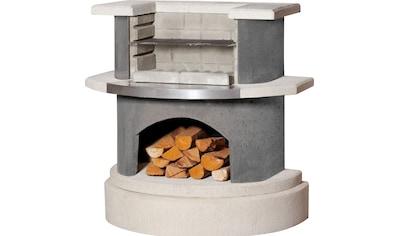 Buschbeck Holzkohlegrill »Grillbar Wellington«, BxTxH: 110x65x113 cm kaufen