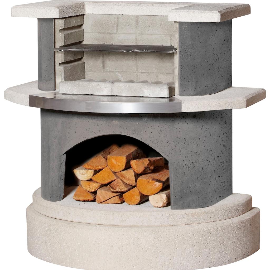Buschbeck Holzkohlegrill »Grillbar Wellington«, BxTxH: 110x65x113 cm