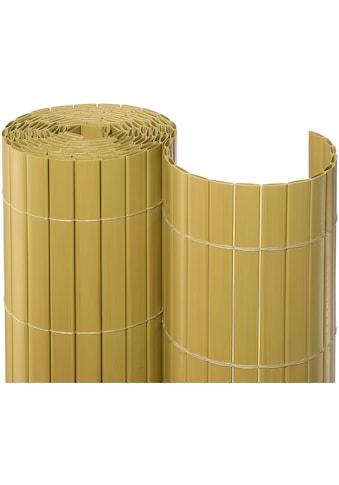 NOOR Balkonsichtschutz, BxH: 3x1 Meter, bambusfarben kaufen