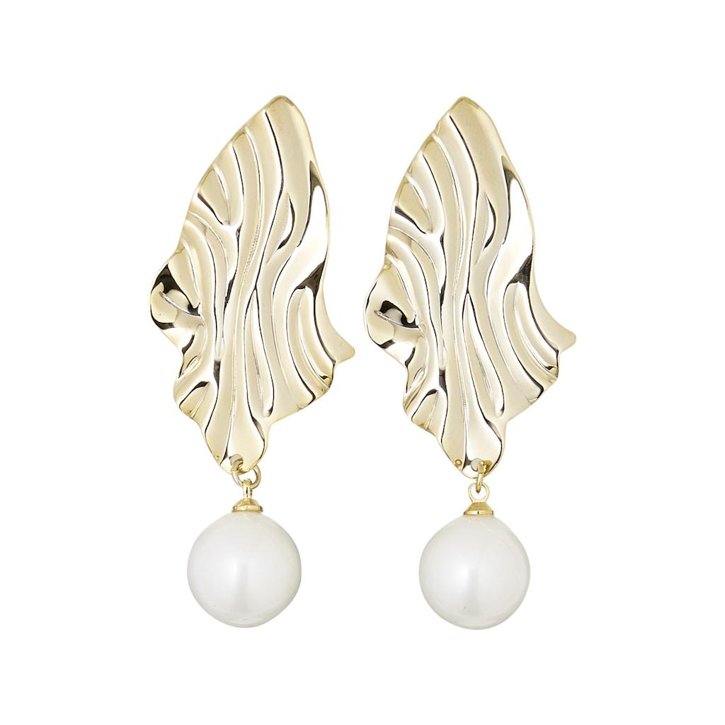 Ohrhänger mit Perlenanhänger