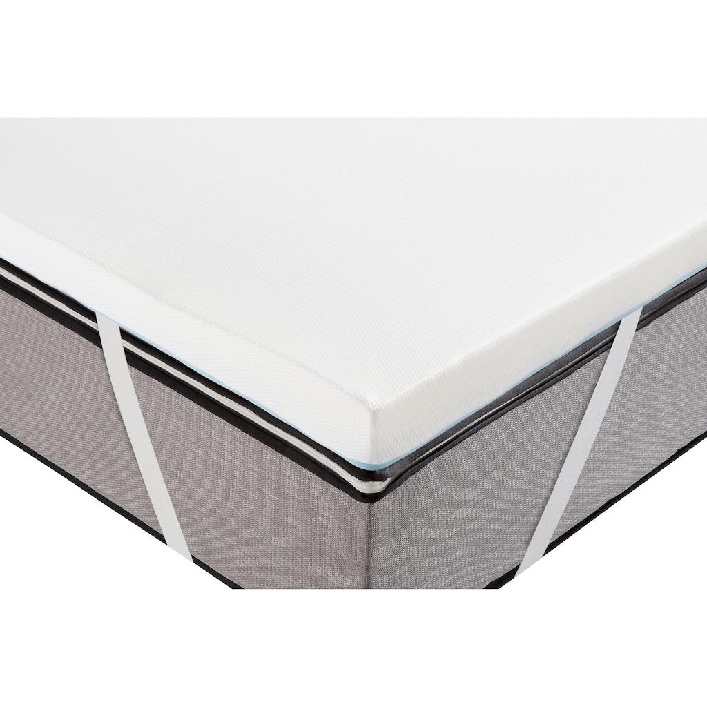 Traumecht Topper »Aura«, (1 St.), kühlender Bezug - ideal für Schwitzer