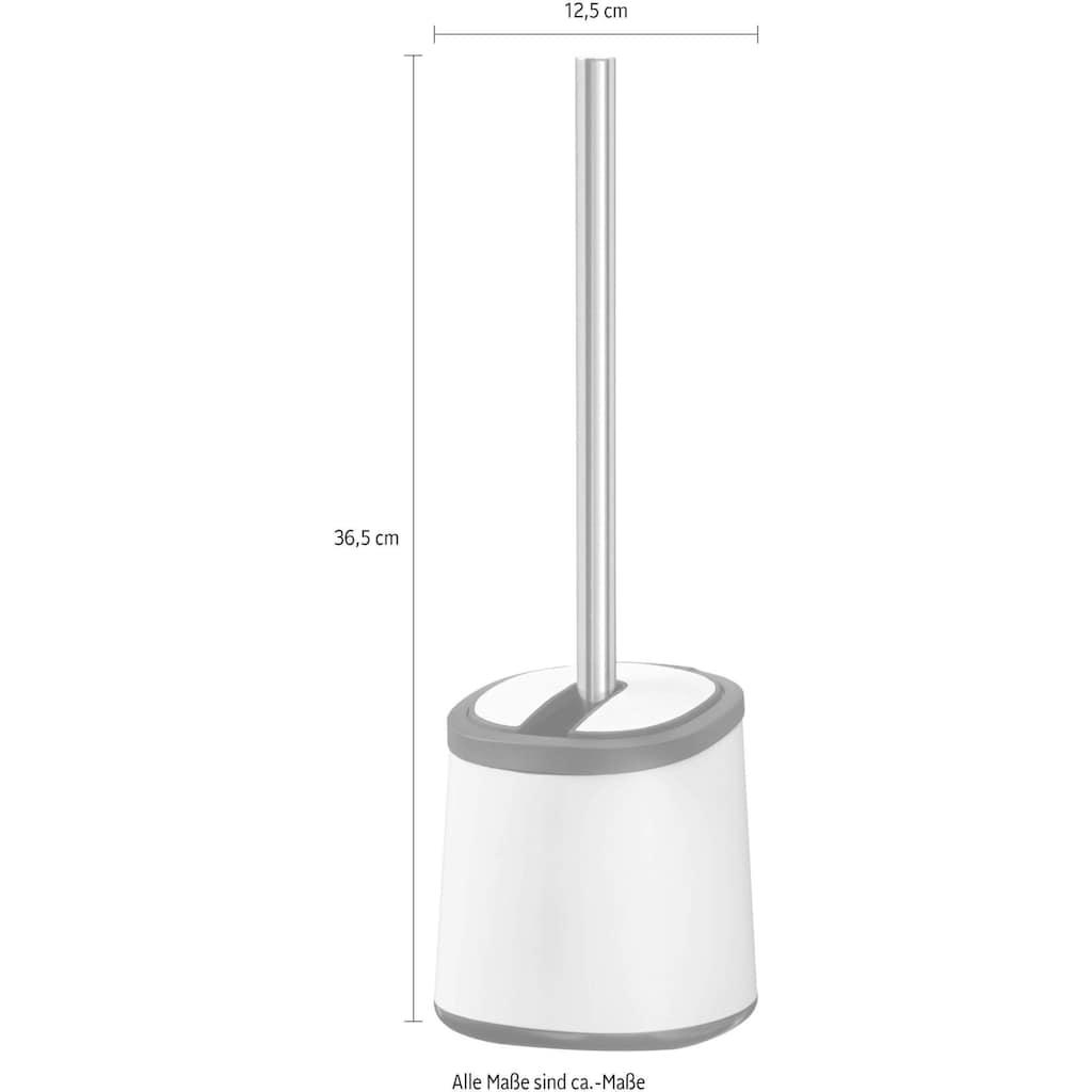 WENKO WC-Garnitur »Kerr«, strapazier- und anpassungsfähiger Borsten