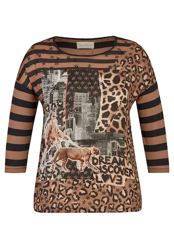 VIA APPIA Trendbewusste Bluse mit Muster - Mix Plus Size kaufen