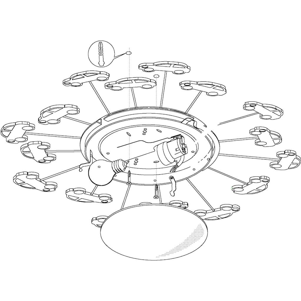 EGLO Deckenleuchte »VIKI«, E27, Deckenlampe