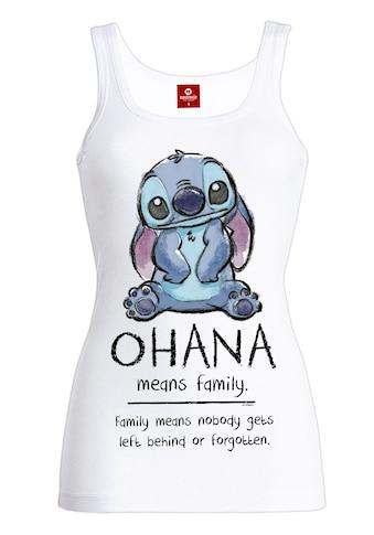 Disney Tanktop »Lilo & Stitch Ohana Means Friend« kaufen