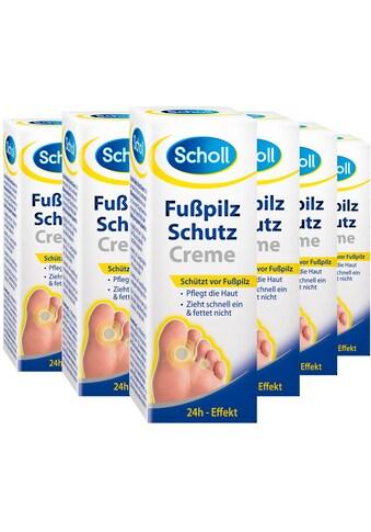 Scholl Fußpflegecreme »Fußpilz Schutzcreme«, (Spar-Set, 6 tlg.) kaufen
