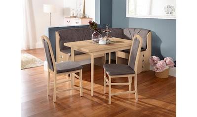 my home Esstisch »Paris«, Breite 110-170 cm mit Auszugsfunktion kaufen