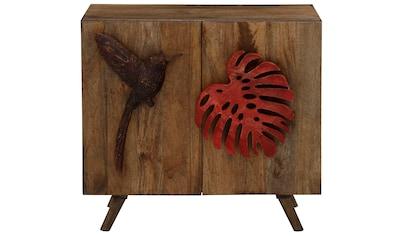 Home affaire Sideboard »Nature«, Der einen Griff ist wie ein Ahornblatt geformt, den... kaufen