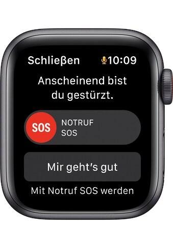 Apple Smartwatch »Series SE, GPS, Aluminium-Gehäuse, 40 mm mit Sportarmband«, (Watch... kaufen