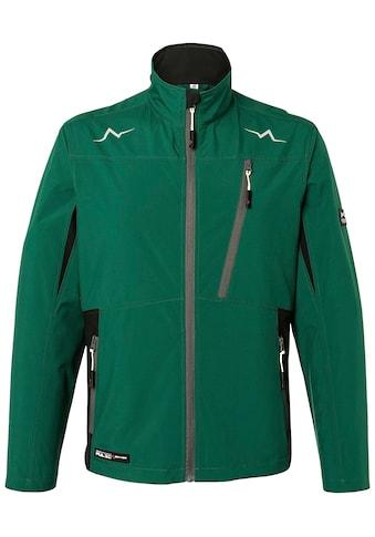 Kübler Softshelljacke »KÜBLER PULSE Ultrashell-Jacke; moosgrün schwarz«, moosgrün schwarz kaufen