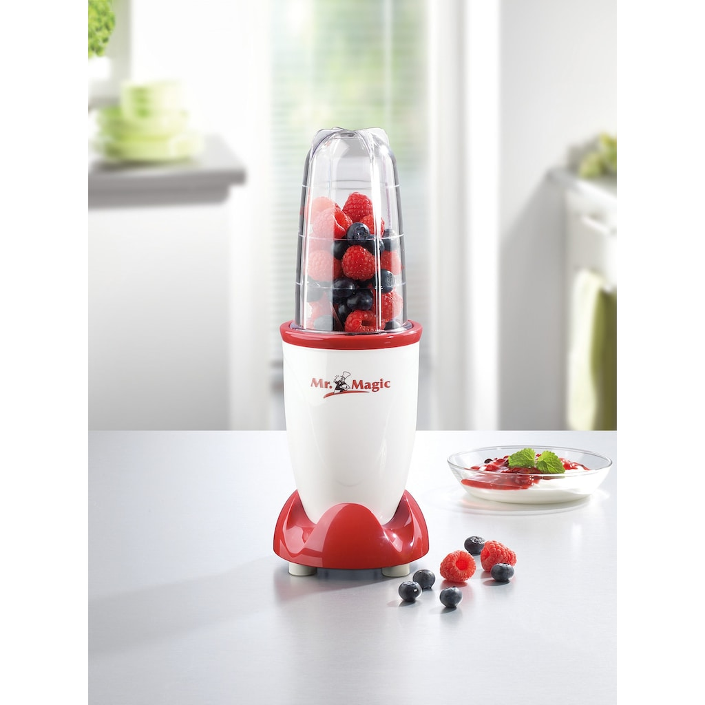 Mr. Magic Smoothie-Maker »8in1«, 400 W, 4-tlg.