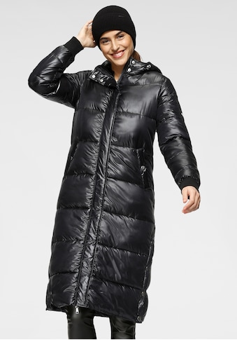 ALPENBLITZ Steppjacke »Wintermärchen«, in extra langer Form mit schimmerndem Glanz kaufen