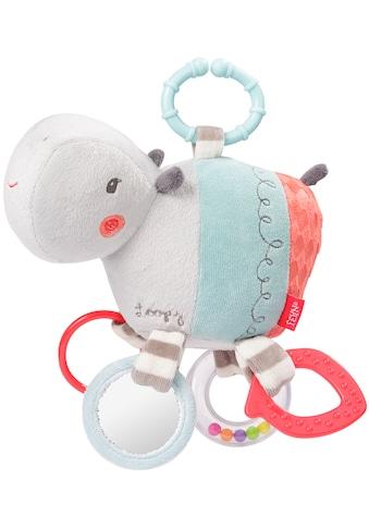 Fehn Greifspielzeug »Loopy & Lotta Activity-Nilpferd«, mit Ring kaufen