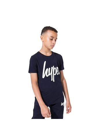 Hype T-Shirt »Kinder mit Logo-Aufdruck« kaufen