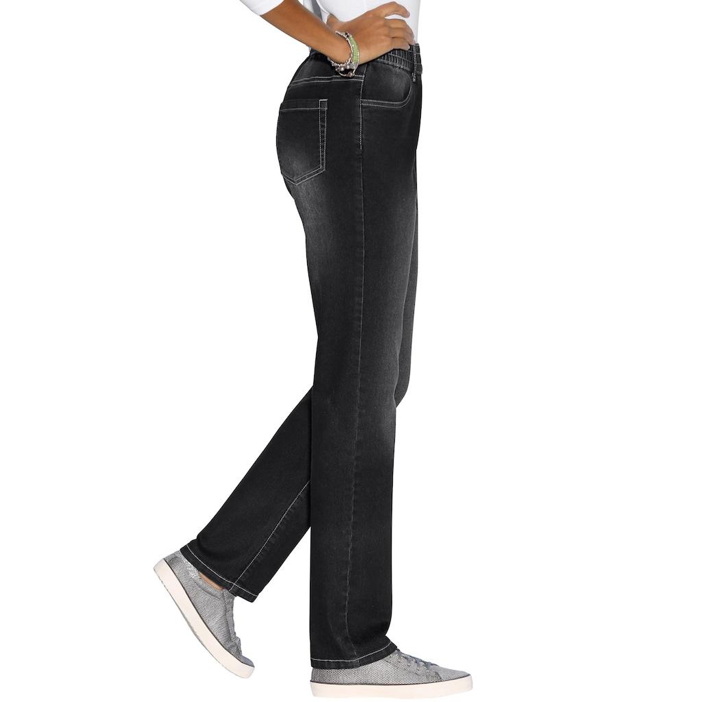 Classic Basics High-waist-Jeans